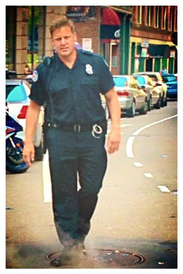 David Afflick As Police Officer